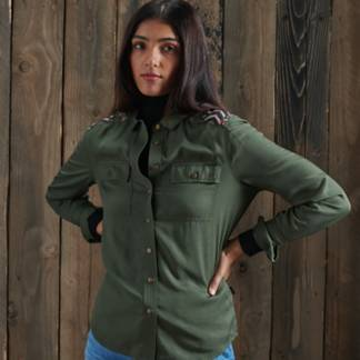 SUPERDRY - Blusa Mujer
