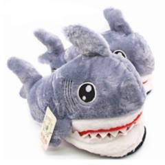 BESTAMERICA - Pantuflas Shark