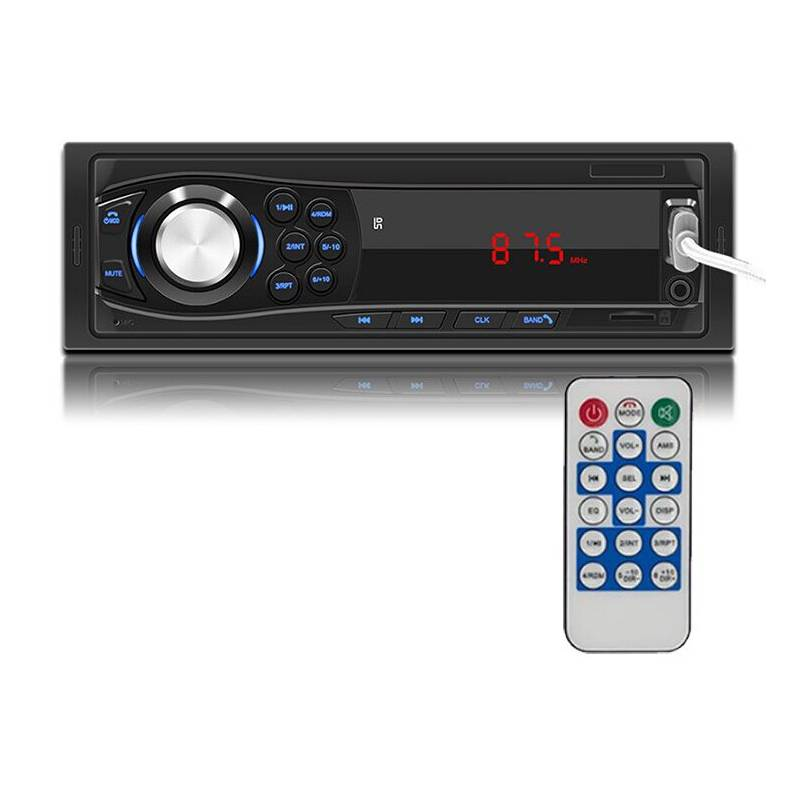 GENERICO - Radio Auto 1 Din Bluethoot  Mp3 Aux  Control
