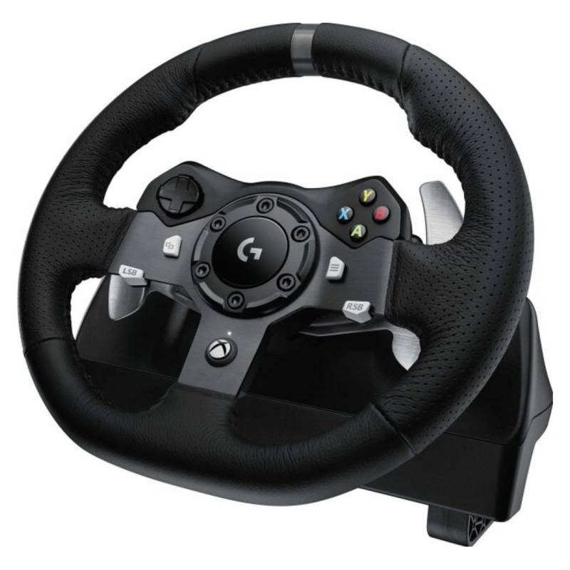 LOGITECH G - Volante y Pedales ForceRacing G920 XBOX ONE PC MAC