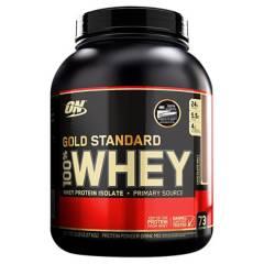 OPTIMUM NUTRITION - Proteína 100% Whey 5lb Gold Standard - CHOCOLATE