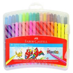 FABER - Marcadores Escolares 36 Colores Es