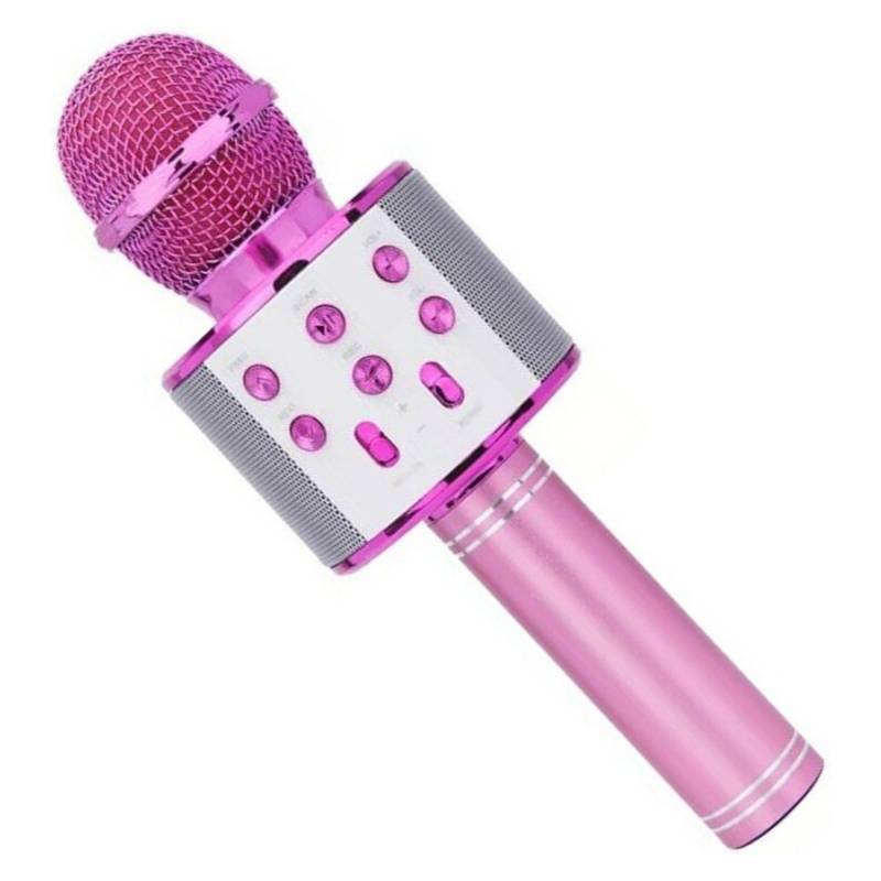 OEM - Microfono Karaoke Con Bluetooth Para Niñas Rosado