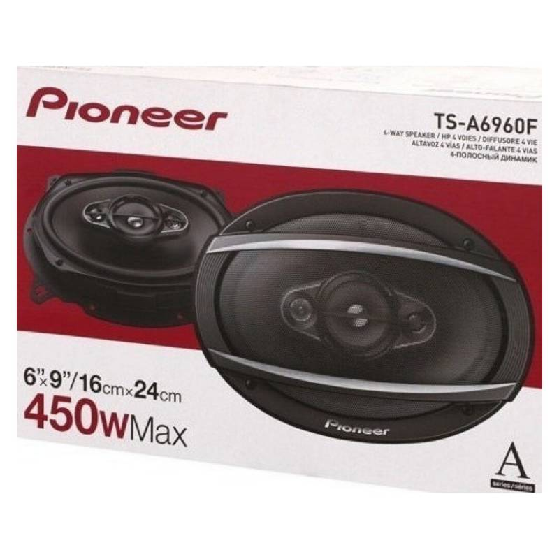 Pioneer - Parlante Pioneer 6x9 Ts-a6960f 450w