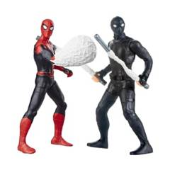 SPIDER MAN - Spiderman Figura Hombre Araña  Pack  Far From Home