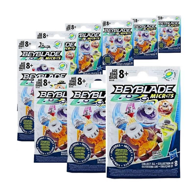 Beyblade - Beyblade Burst Beyblade Micros Pack 10 Lanzadores