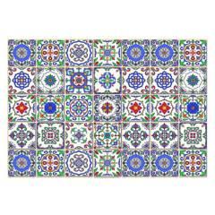 Davanti Home Ideas - Alfombra Vinílica Baldosa Española 70 X 100 Cm