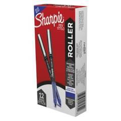 SHARPIE - Roller Ball Sharpie Punta Ultra Fina Azul X12