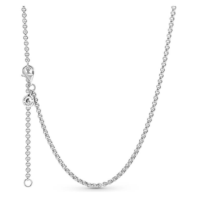 PANDORA - collar de plata de cadena rolo