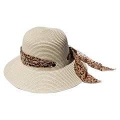 VIVAFELICIA - Sombrero Bucket Animal Crudo