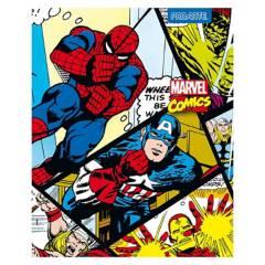 Proarte - Pack Cuaderno 10 Unidades Universitario Villanos Marvel