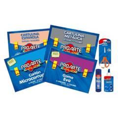 PROARTE - Set Escolar Pack Papelería Escolar
