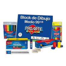 Pack útiles y aprendizaje