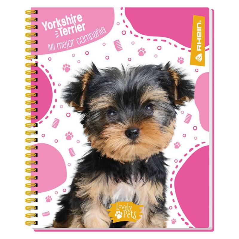 Rhein - Cuaderno Universitario 100 Hojas Pets