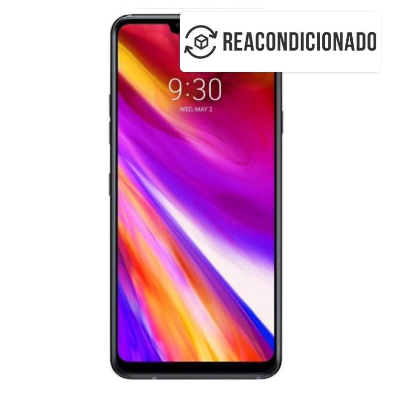 LG - LG G7 64 GB OPEN BOX NEGRO