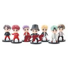 BTS - Boy Band Sets 7 Figura De Acción