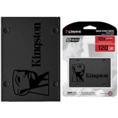 KINGSTON - Disco Estado Solido Kingston A400 120Gb Sa400S37