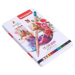 Bruynzeel - Lápices Expression 12 Colores Caja Metálica