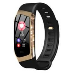 COMPRAPO - Reloj Inteligente Smart Band Bluetooth E18 Negro-D