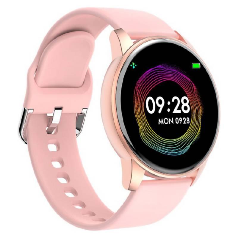 COMPRAPO - Reloj Inteligente Smartwatch Zl01 Rosa