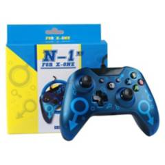 OEM - Control Xbox One Wired Azul Pc Vibracion