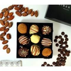 undefined - Caja Trufas De Chocolate 9 Unidades