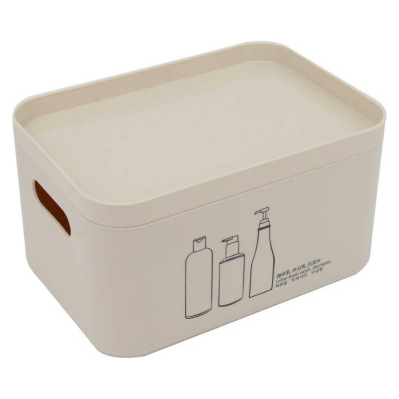 HOMEWELL - Caja Organizadora Con Tapa 22X15.5X12Cm