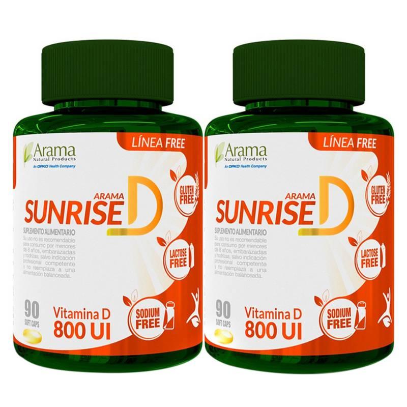Arama - Vitamina D Complex Sunrise D Pack X 2