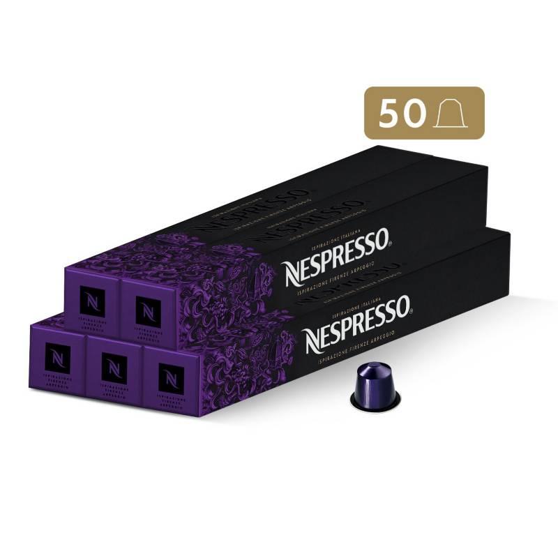 Nespresso - Cápsulas Café Firenze Arpeggio - 50 unidades