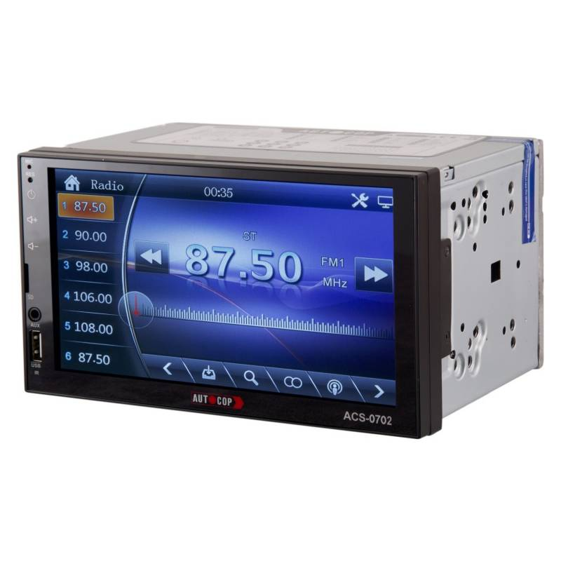 Generico - Radio Auto 2 Din Mirror Link Bluetooth Usb Sd Ac07