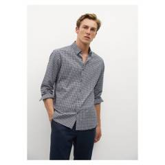 MANGO MAN - Camisa Slim Fit Algodón