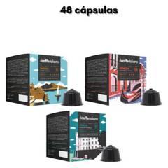 ILCAFFEITALIANO - Ilpack 48 Cápsulas Compatibles Dolce Gusto
