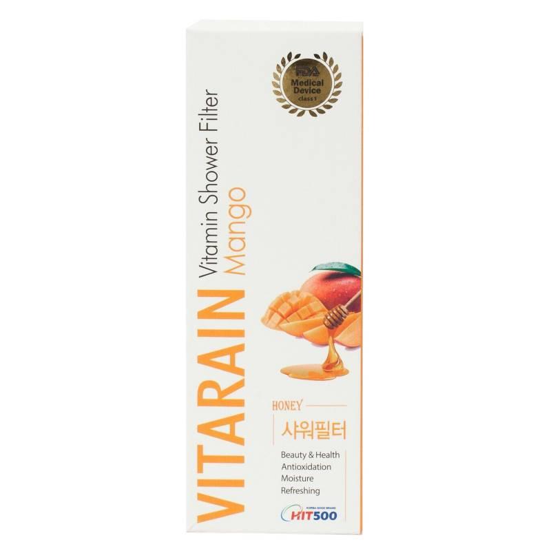 VITARAIN - Filtro de ducha con aromaterapia MANGO