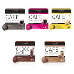 VIAGGIO ESPRESSO - Pack 5 Cajas Café Compatible Con Dolce Gusto