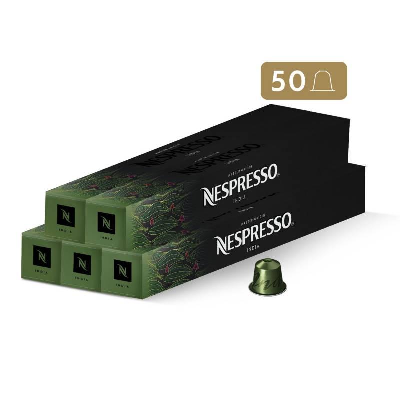 Nespresso - Cápsulas de Café India - 50 unidades