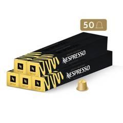 Nespresso - Cápsulas de Café Vanilla Éclair - 50 unidades