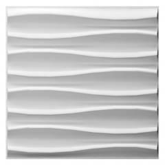 FOKUS HOME - Panel 3D Brandy - 24 Paneles -50X50Cm - 6M2
