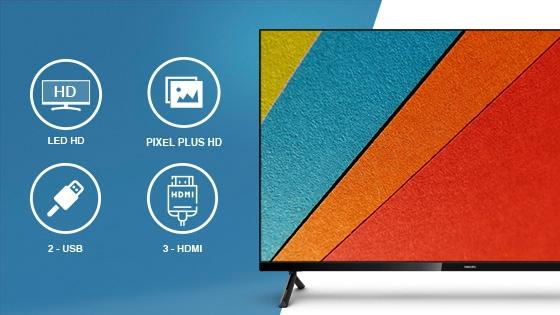 Smart tv HD 32 Sin bordes borderless