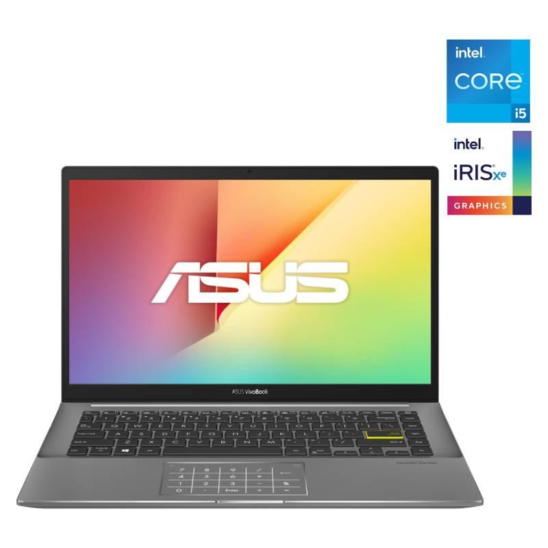 "ASUS - Notebook Vivobook S14 S433 Intel Core i5-1135G7 8GB RAM + 32GB Optane 512GB SSD 14"" FHD"