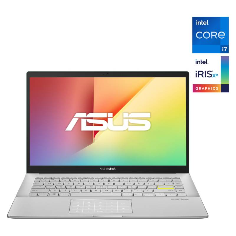 "ASUS - Notebook Vivobook S14 S433 Intel Core i7-1165G7 8GB RAM + 32GB Optane 512GB SSD 14"" FHD"