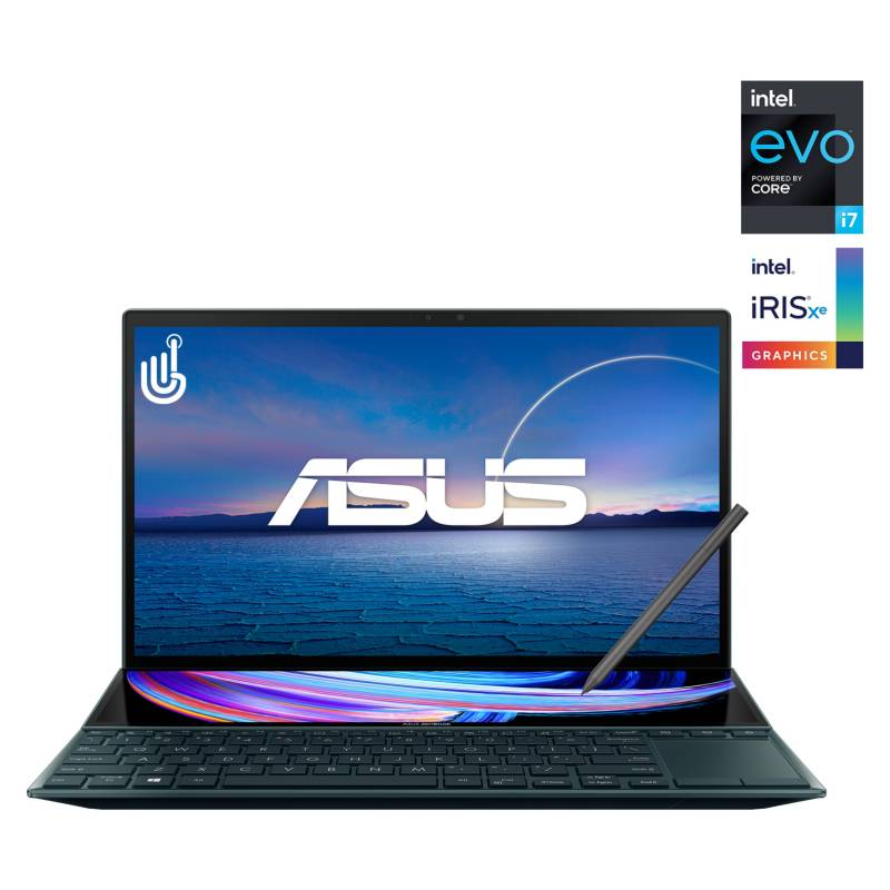 """ASUS - Notebook ZenBook Duo 14 UX482 LED Full HD Touch Screen 14"""""""