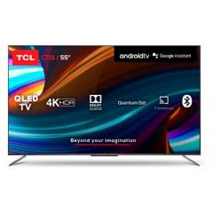"Tcl - QLed 55"" 55C715 UHD 4K Android Smart TV-TCL"