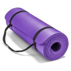 BASKO FITNESS - Mat Yoga 10 Mm Pilates Grueso