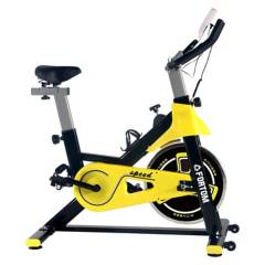 GENERICO - Bicicleta Spinning Disco 8 KG Black/Yellow