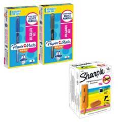 SHARPIE - Pack Oficina Lapices Gel  Destacadores Sharpie