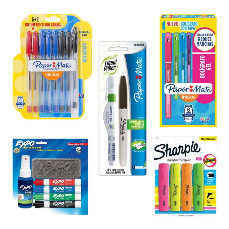 SHARPIE - Pack Escolar Todo En Uno