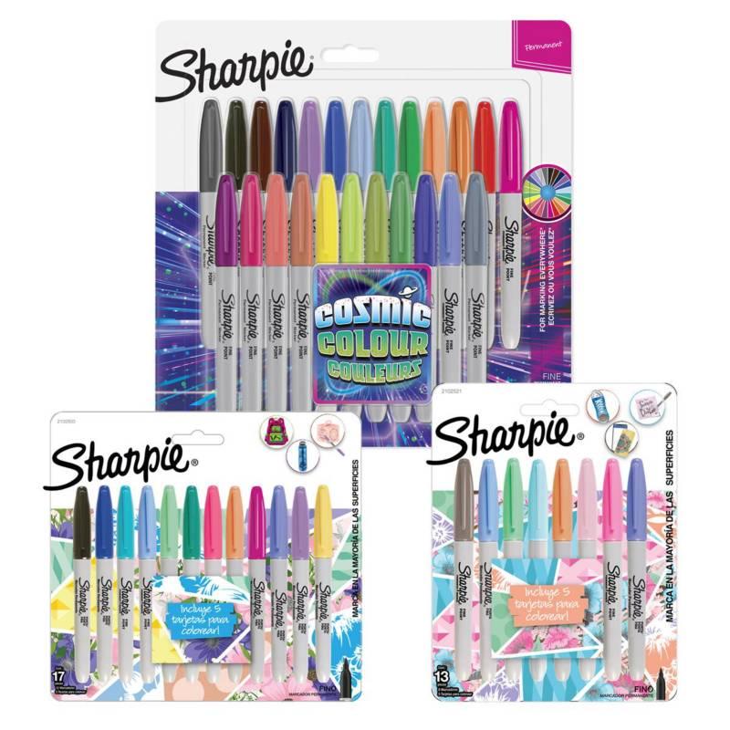 SHARPIE - Pack Colección Sharpie Tropical Cosmic Y Pastel