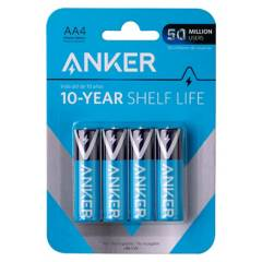 ANKER - Pilas Alcalinas AA 4-Pack