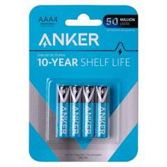 ANKER - Pilas Alcal AAA 4-Pack