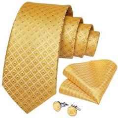 SONEC FASHION - Set Corbata Hombre Paño Colleras. Solinario